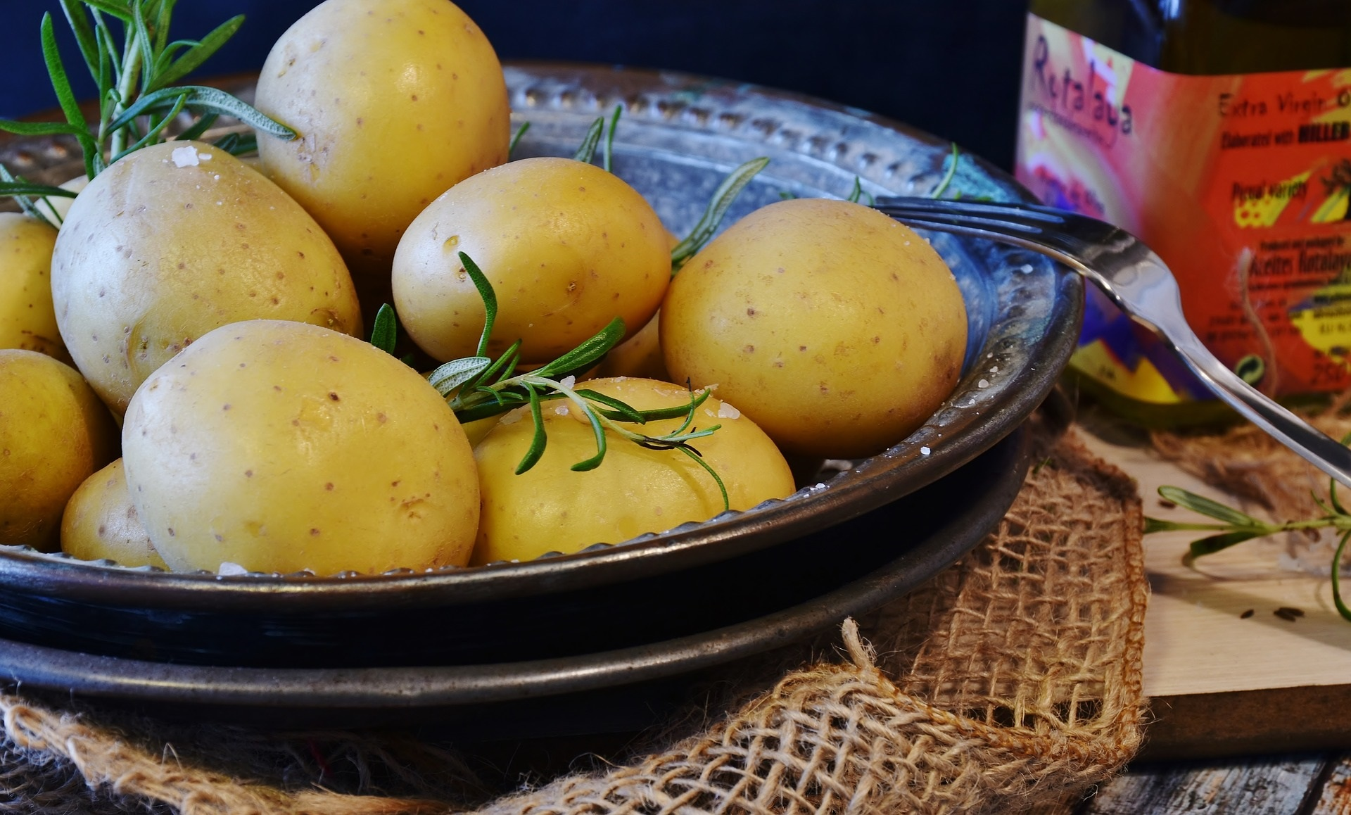 Nem kartoffelsuppe med basilikum (også i en migrænevenlig version)